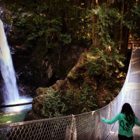 Cascade Falls Suspension Bridge Instagram Moment by @ijustwanttoexplore