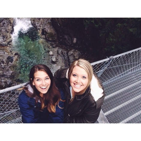 Cascade Falls Suspension Bridge Instagram Moment by @shelbyneufeld